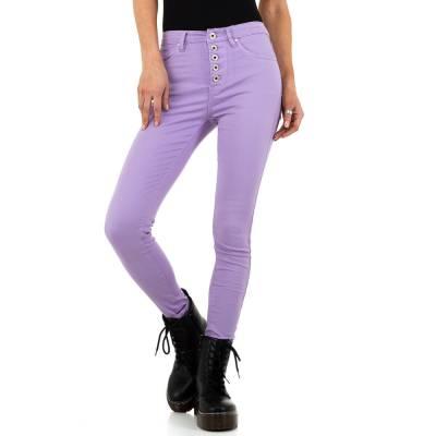 Skinny Jeans für Damen in Lila