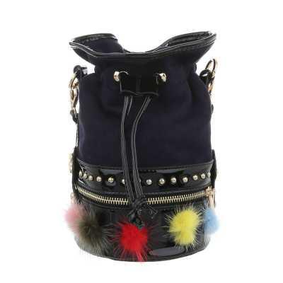 Sehr Kleine Damen Tasche Dunkelblau