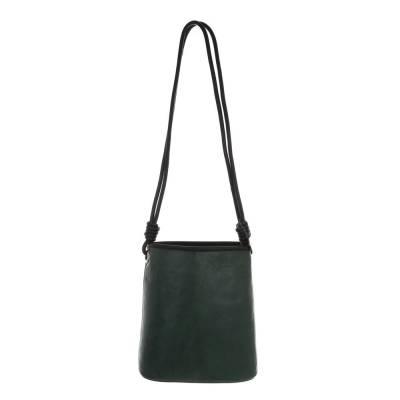 Schultertasche für Damen in Grün