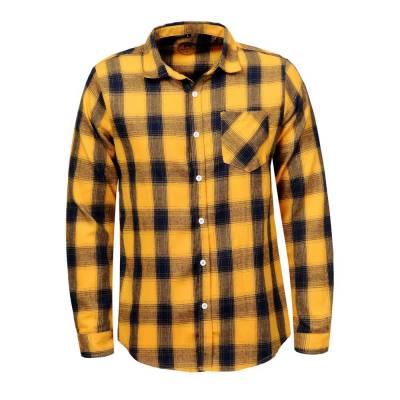 Hemd für Herren in Gelb