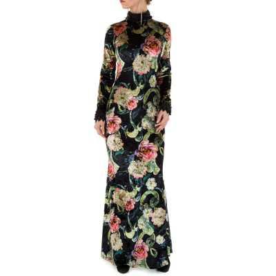 Abendkleid für Damen in Grau