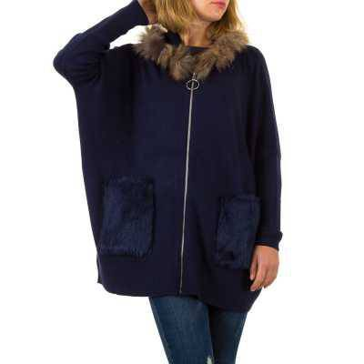 Strickjacke für Damen in Blau