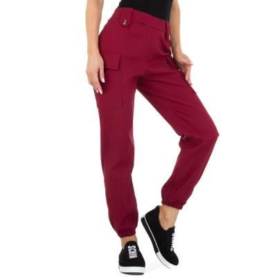 Boyfriend-Hose für Damen in Rot
