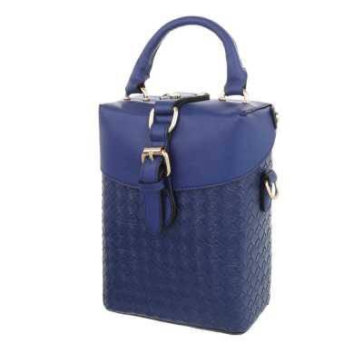 Sehr Kleine Damen Tasche Blau