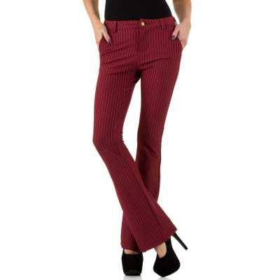 Chinos für Damen in Rot