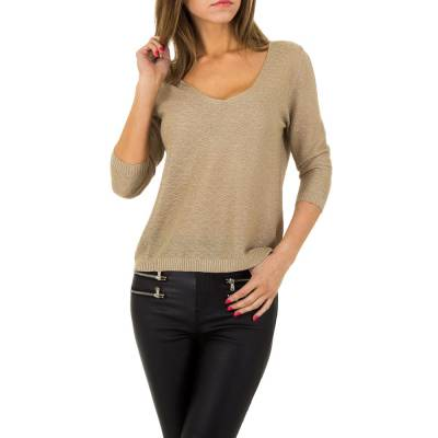 Sweatshirt für Damen in Gold