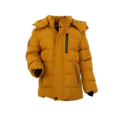 Jacke für Kinder in Gelb