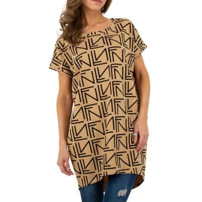 T-Shirt für Damen in Beige