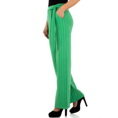Stoffhose für Damen in Grün