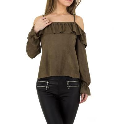 Bluse für Damen in Braun