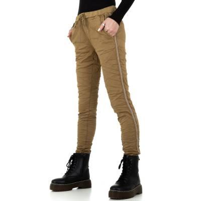 Boyfriend-Hose für Damen in Braun