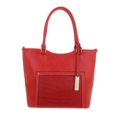 Shopper für Damen in Rot
