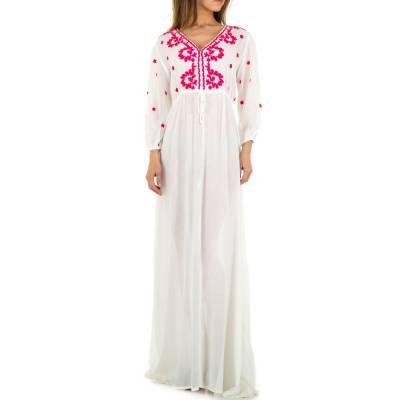 Maxikleid für Damen in Weiß
