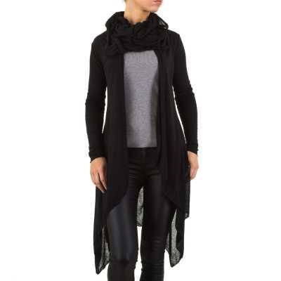 Strickcardigan für Damen in Schwarz
