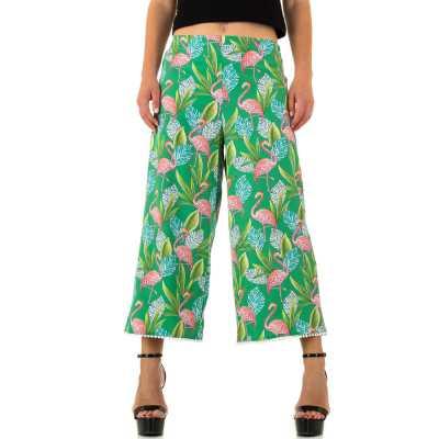 Caprihose für Damen in Grün