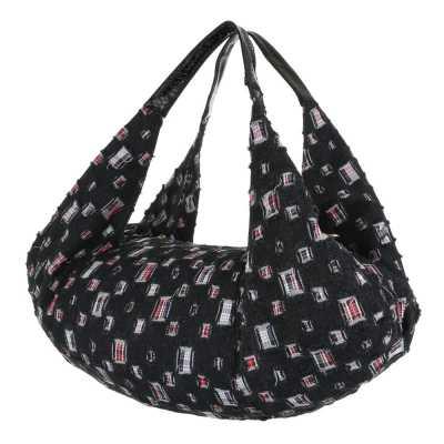 übergroße Damen Tasche Schwarz