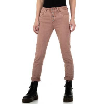 Boyfriend Jeans für Damen in Rosa
