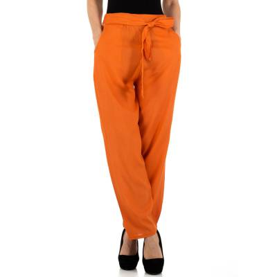 Chinos für Damen in Orange