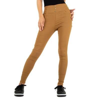 Skinny-Hose für Damen in Camel
