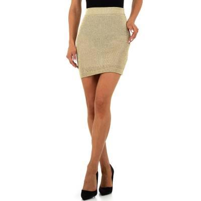 Minirock für Damen in Gold