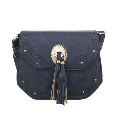 Kleine Damen Tasche Dunkelblau