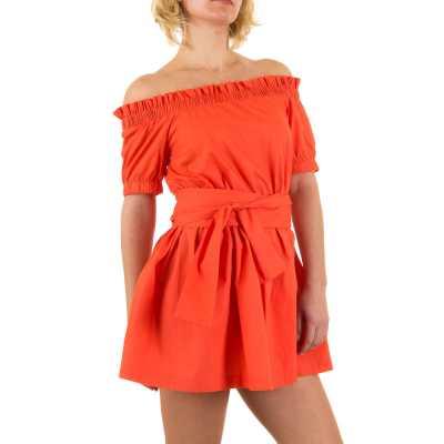 Minikleid für Damen in Orange