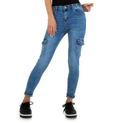 Skinny Jeans für Damen in Blau