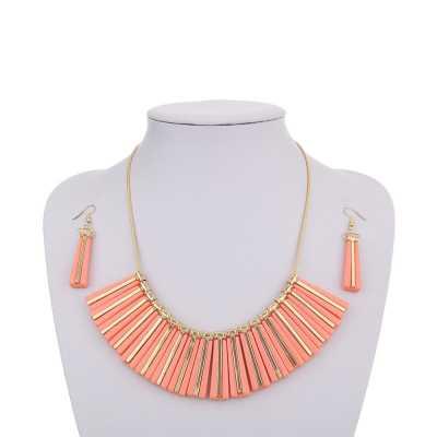 Halskette für Damen in Rot