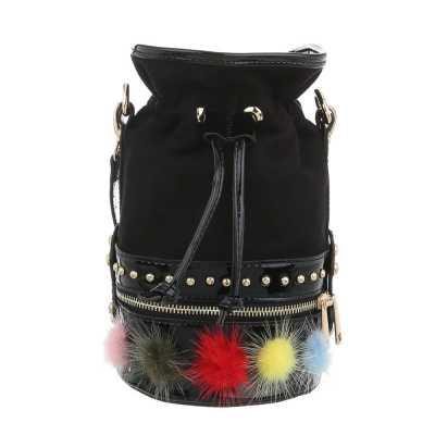 Sehr Kleine Damen Tasche Schwarz