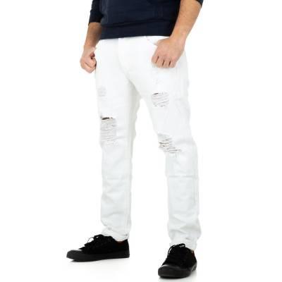 Hose für Herren in Weiß