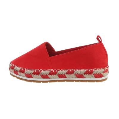 Espadrilles für Damen in Rot