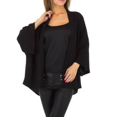 Poncho/Cape für Damen in Schwarz