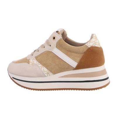 Sneakers Low für Damen in Camel