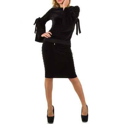 Zweiteiler für Damen in Schwarz