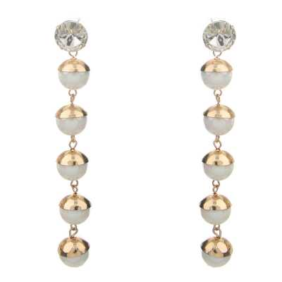 Ohrringe für Damen in Weiß
