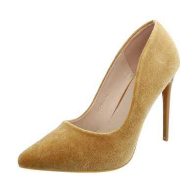 High Heel Pumps für Damen in Gelb