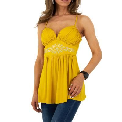 Top für Damen in Gelb