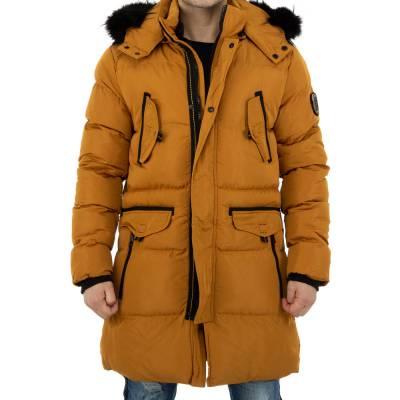 Mantel für Herren in Gelb