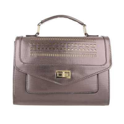 Kleine Damen Tasche Bronze