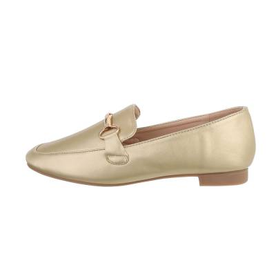 Slipper für Damen in Gold