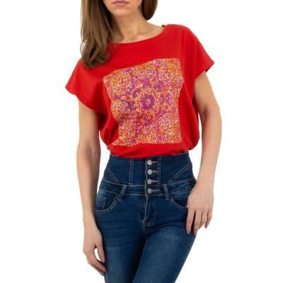 T-Shirt für Damen in Rot