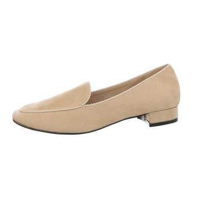 Slipper für Damen in Beige