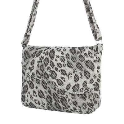 Kleine Damen Tasche Grau Multi