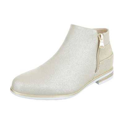 Chelsea Boots für Damen in Gold