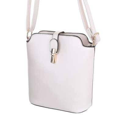 Kleine Damen Tasche Creme