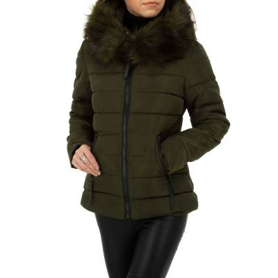 Winterjacke für Damen in Braun