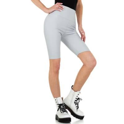 High Waist Shorts für Damen in Grau