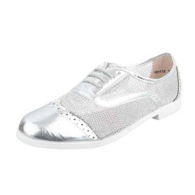 Schnürer für Damen in Silber