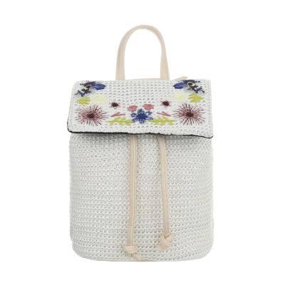Sehr Kleine Damen Tasche Weiß Beige