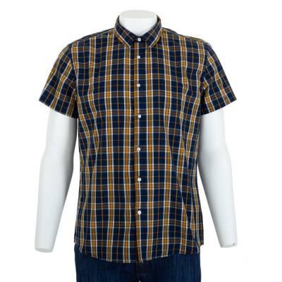 Hemd für Herren in Gelb und Schwarz